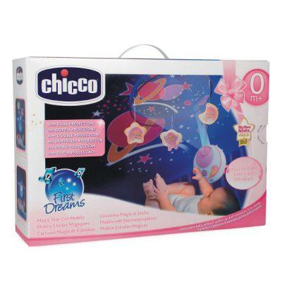 Karuzela na łóżeczko MagicStars R (024291)-Chicco