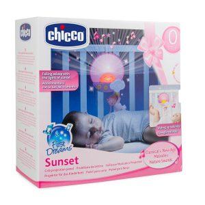 Panel na łóżeczko sunset różowy (069921)-Chicco