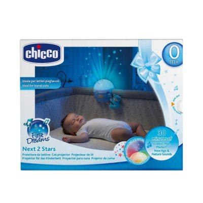 Projektor na łóżeczko niebieski (76472)-Chicco