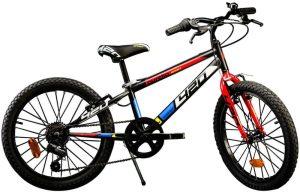 """Dino bikes Rower dziecięcy Aurelia 20"""" Boys Black."""