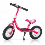 Milly Mally Rower dziecięcy Dusty 12'' różowo-biały (GXP-628623).