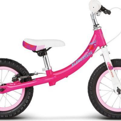 """Rower dziecięcy Kid Mini 12"""" różowy połysk 2018."""