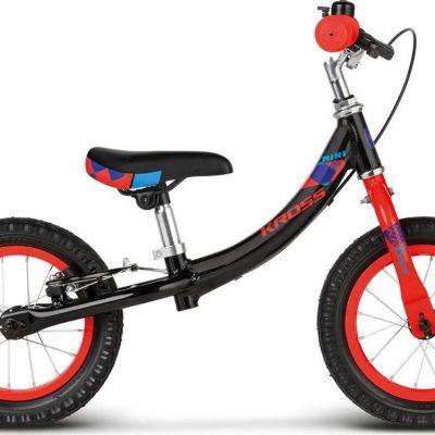 """Kross Rower dziecięcy Kid Mini 12"""" czarno-czerwony połysk 2018."""