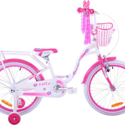 Rower dziecięcy Lilly biały.