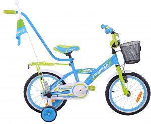 Fuzlu Rower dziecięcy 16 Twinkle uniwersalny.