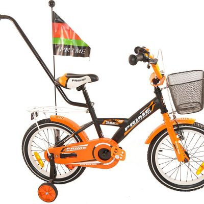 Rower dziecięcy 20 PRIME pomarańczowy uniwersalny.
