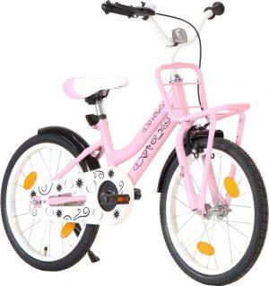 """Rower dziecięcy 18"""" różowy."""