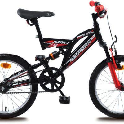 """Olpran rower dziecięcy Miki 18"""" black."""